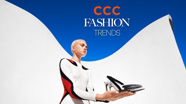 Fashionable trends in CCC. New advertising campaign