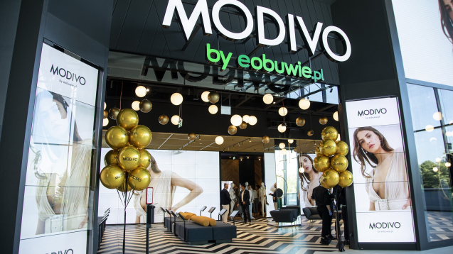 MODIVO: THE FIRST STATIONARY STORE ALREADY OPENED