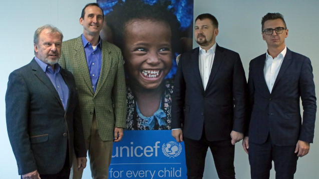 CCC Group becomes UNICEF's first Polish global partner