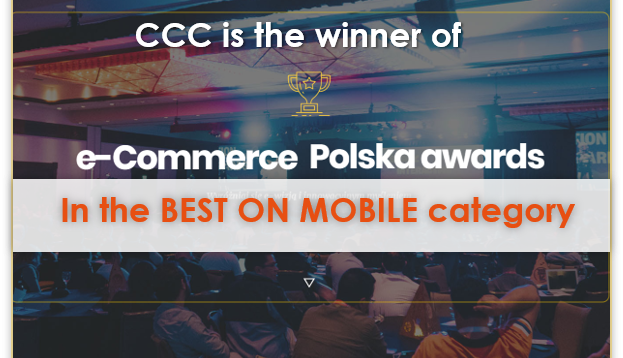 CCC is the winner of the E-commerce Polska Awards